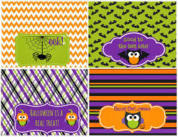 Printable Halloween Bags Halloween Party Printables Second Chance To Dream