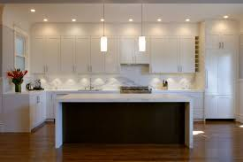 Creative Kitchen Island Ideas Modern Kitchen Design Great Lighting With White And Brown Colour