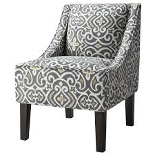 Target Accent Chairs hudson swoop chair prints target greystone print our first