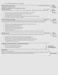 Ecommerce Resume Sample by The Hybrid Resume Format