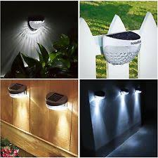 Solar Fence Lighting by Fence Solar Lights 4 Ebay