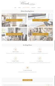 Interior Designer Website by Portfolio H Tarrach Interior Design First Days Digital Marketing
