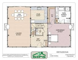 open floor plan colonial homes house plans pinterest plan