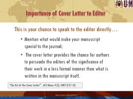 Advice  how to suggest referees in your cover letter to the