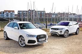 lexus vs audi q3 audi q3 vs range rover evoque auto express