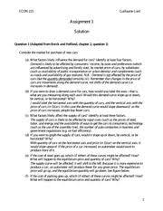 Environmental Economics Homework Help