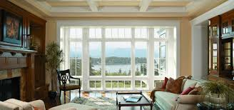 decorating awesome glass reliabilt windows with white frame for