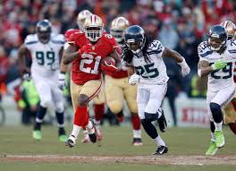 seahawks 49ers thanksgiving days of heated niners seahawks rivalry seem a distant memory the