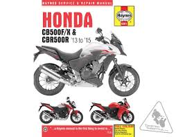 haynes repair manual for honda cb500f u002713 u002715 cb500x u002713 u002715