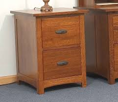 2 Drawer Oak Wood File Cabinet by Amish Handcrafted And Custom Office File Cabinets