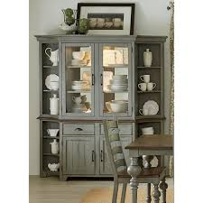 corner china cabinet dining room traditional with beige cabinets