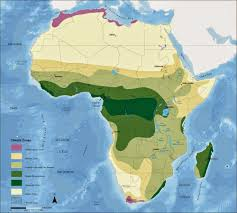 Sub Saharan Africa Physical Map by Map Of Climates Of Africa Free Printable Maps