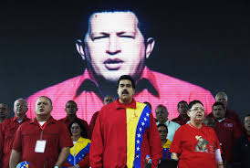 Could Low Oil Prices End Venezuela     s Revolution    The New Yorker President Nicol  s Maduro  center  during the United Socialist Party of Venezuela     s annual congress on