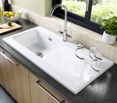Unique White Kitchen Sink Divide Undermount Castiron  In Double - Ceramic white kitchen sink