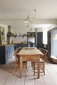 best eat kitchen ideas pinterest seat view and grey kitchen with wooden table and pendant lights