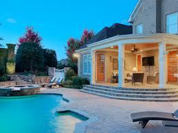 backyard decks and patios ideas patio materials and surfaces hgtv