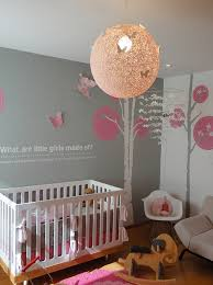 modern u0027s nursery design with gray walls paint color string