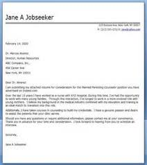 Cover Letter Sample For Nursing cover letter examples for scholarships Ascend Surgical