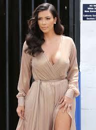 braless kim kardashian|Kim Kardashian Goes Braless for Movie Date With Kanye West