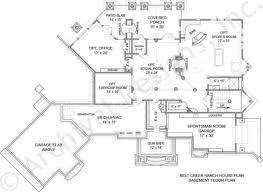 Ranch House Plan by Belt Creek Ranch Lakefront Floor Plan Luxury Floor Plan