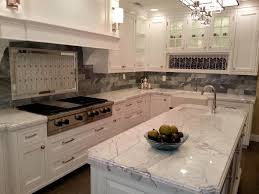 Ceramic Kitchen Backsplash Kitchen Beautiful Granite Countertops White Cabinets With