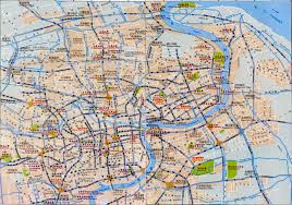 China City Map by Shanghai Introduction U0026 City Map China Maps Map Manage System Mms