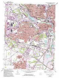 Southwest Colorado Map by Southwest Columbus Topographic Map Oh Usgs Topo Quad 39083h1