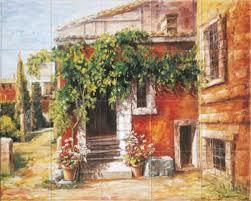 Kitchen Backsplash Mural Stone by Villa Toscana Kitchen Backsplash Tile Mural Accent Tile