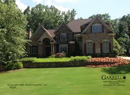Stone House Plans Exterior Design Asheville Lodge House Plans By Garrell Associates