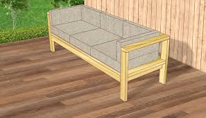 Modern Outdoor Sofa by How To Make A Couch From Pallets For Your Patio Modern Outdoor Sofa
