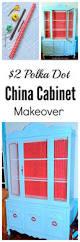 Kitchen China Cabinets Kitchen China Cabinet Makeover Thrifty Rebel Vintage