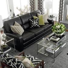 Living Room Settee Furniture by Living Room Black Leather Couches Med Art Home Design Posters