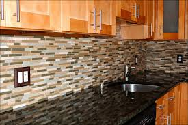 Kitchen  Mosaic Tile Backsplash Backsplash Tile Peel And Stick - Peel on backsplash