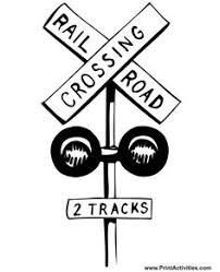 coloring pages of tools rr crossing sign print on thick paper party ideas for the kids