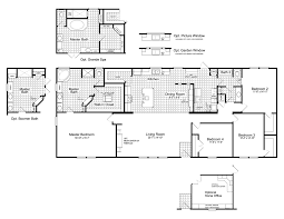 view the canyon bay ii floor plan for a 2356 sq ft palm harbor the canyon bay ii hht476a5 standard floor plan