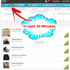POF Auto Message Sender Software        Scrapers   N   Bots