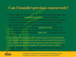 Ph D in Education Info Session advisory committee Can I transfer previous coursework