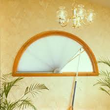 custom shades for arch windows and other specialty shapes
