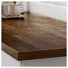 karlby countertop for kitchen island walnut ikea