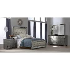 King Bedroom Set Armoire Angelina 6 Pc King Bedroom American Signature Furniture Home
