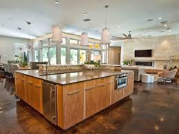 Big Kitchen Island Designs Kitchen Top House Plans With Large Kitchen Island Decorations