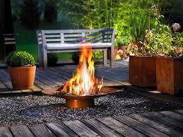garden fireplace design extravagant exteriors modern outdoor 2017