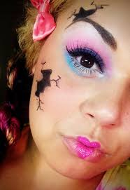 Halloween Doll Makeup Ideas by 55 Best Broken Doll Makeup And Tutorials Images On Pinterest
