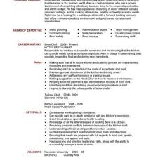 Cook Resume Sample Pdf Executive Chef Resume Objective Examples An Essay On The Theory