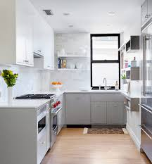 Remodeled Kitchens With White Cabinets by 30 Gorgeous Grey And White Kitchens That Get Their Mix Right