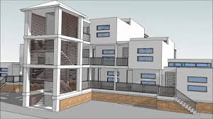 Design An Apartment Building With SketchUp Part  Animations - Apartment building design
