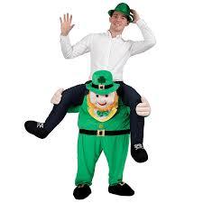 care bear halloween costumes funny carry me leprechaun st patricks irish rugby football fancy