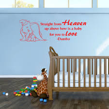 Baby Room Wall Murals by Aliexpress Com Buy Lovely Cute Elephant With Straight From