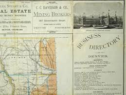 Map Of Colorado by Eureka The Discovery Of Treasures In The Cu Boulder Libraries