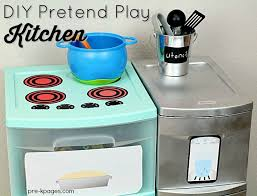 Kids Plastic Play Kitchen by Diy Printable Play Kitchen Props Pretend Play Kitchen Plastic